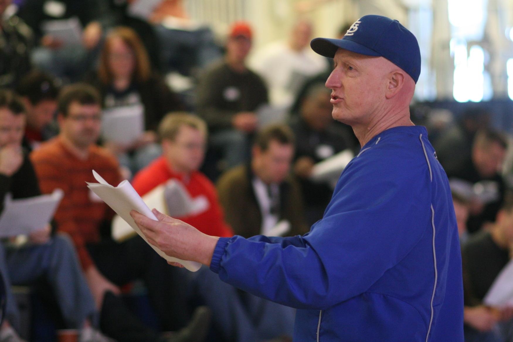 Teaching Hitting at Practice Seminar