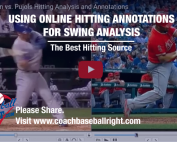 Using Online Hitting Annotations for Swing Analysis