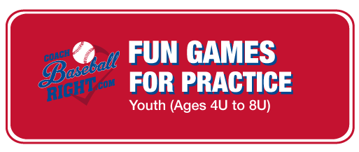 Fun Games for Youth Baseball Practice