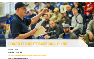 2019 Coach It Right Baseball Coaching Clinic